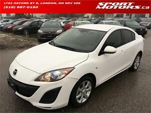 2010 Mazda3! Keyless Entry! Power Options! A/C! Curise Control!