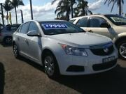 2011 Holden Cruze JH CD White 6 Speed Automatic Sedan Broadmeadow Newcastle Area Preview