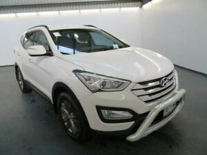 2013 Hyundai Santa Fe DM MY14 ACTIVE White Sports Automatic Wagon Albion Brimbank Area Preview