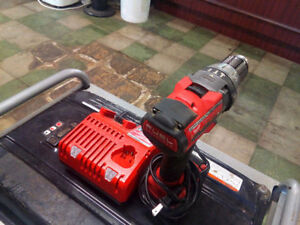 Milwaukee 18V brushless fuel drill. Good condition.
