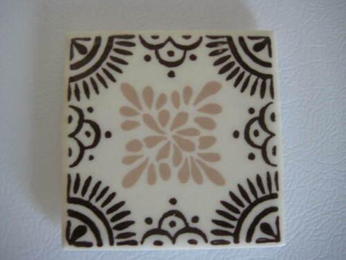Orion Tile Monterrey Mexico Brown Cream Tan Trivet