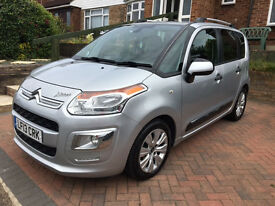 CITROEN C3 PICASSO Executive Silver Excellent condition Very reliable Great mpg £30 tax p/a