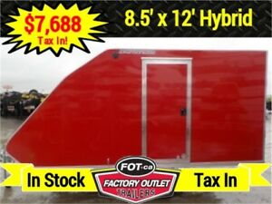 -* Limited Quantities *- 8.5 x 12 Enclosed Sled Trailer by Alco