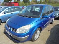 Renault Scenic 1.5 DCI 80 DYNAMIQUE (blue) 2004