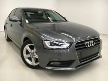 2012 Audi A4 B8 8K MY13 Multitronic Grey 8 Speed Constant Variable Sedan Edgewater Joondalup Area Preview