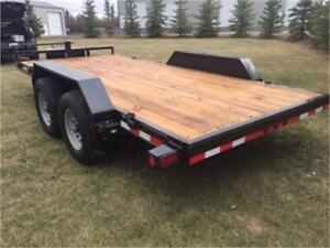 Flat Deck Trailer | Kijiji in Alberta  - Buy, Sell & Save with