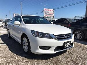 2013 Honda Accord Sedan EX-L|LEATHER|SUNROOF| BLACK INTERIOR|