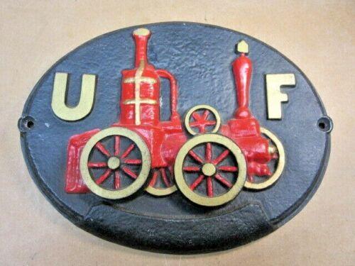 Union Fire Insurance Cast Wall Plaque