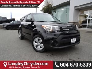 2017 Kia Soul LX *ACCIDENT FREE*ONE OWNER*LOCAL BC CAR*