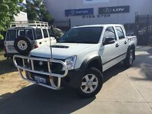 2008 Holden Rodeo RA MY08 LX (4x4) White 5 Speed Manual Crewcab Beckenham Gosnells Area Preview