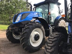 2017 New Holland T6.165 Tractor