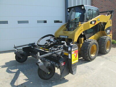 Harley 84 Hydraulic Angle Power Box Rake Attachment