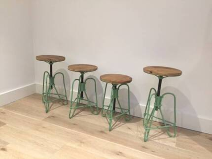 4 Adjustable Bar Stools  - $50 each  - Near New Annandale Leichhardt Area Preview