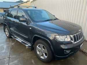 2011 Jeep Grand Cherokee WK Laredo (4x4) Black 5 Speed Automatic Wagon Mount Hawthorn Vincent Area Preview