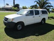 2007 Toyota Hilux GGN15R 06 Upgrade SR 5 Speed Manual Dual Cab Pickup Alberton Port Adelaide Area Preview