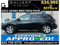 2011 Acura MDX SH-AWD $279 bi-weekly APPLY NOW DRIVE NOW
