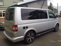 Silver VW Camper in Northamptonshire - Available for holiday hire