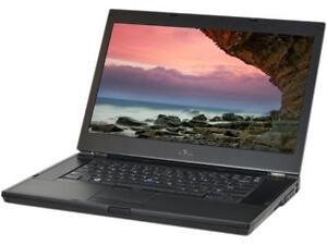 Laptop Dell 15.6 pouces E6510 Webcam graveur dvd