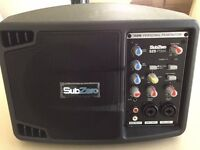 Sub Zero 150 watt powered portable PA monitor - excellent condition