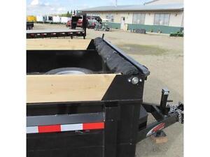 NEW 2016 Mirage 7X14 Utility Dump Trailer with Scissor Hoist Edmonton Edmonton Area image 8