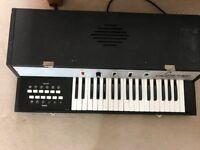 Vintage Lorenzo Electronic Organ/Keyboard with screw in legs