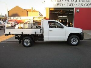 2013 Volkswagen Amarok 2H MY13 TSI300 White 6 Speed Manual 2D CAB CHASSIS Croydon Burwood Area Preview