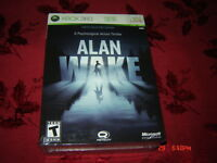 ALAN WAKE COLLECTOR'S EDITION XBOX 360 SEALED NEUF