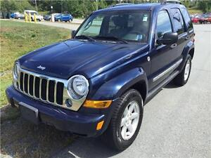2006 Jeep Liberty Limited NEW MVI, LOW KMS! 4X4