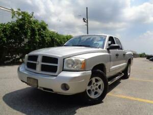 2006 Dodge Dakota SLT 4X4, QUAD CAB, CLEAN CAR PROOF!!