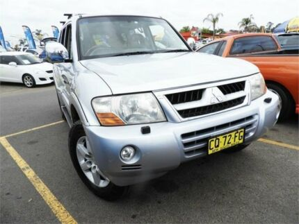 2004 Mitsubishi Pajero NP MY05 Exceed Silver 5 Speed Sports Automatic Wagon Minchinbury Blacktown Area Preview