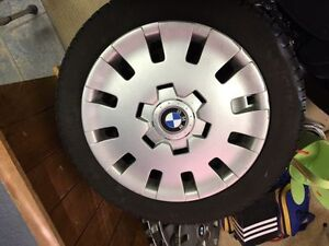 GENUINE BMW WHEEL COVERS FOR STEEL RIMS