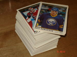 cartes de hockey OPC premier 91-92