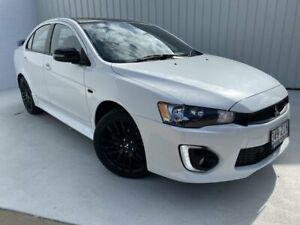 2017 Mitsubishi Lancer CF MY17 Black Edition White 6 Speed Constant Variable Sedan Mundingburra Townsville City Preview
