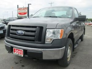 2011 Ford F-150 XL 8-ft. Bed 4WD