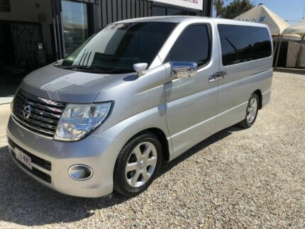 2007 Nissan Elgrand E51 Highway Star Silver 5 Speed Automatic Wagon Arundel Gold Coast City Preview