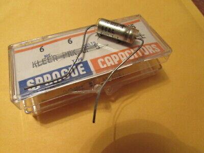 6uF, 6DC Sprague 30D TE-1085 USA Axial Capacitor NOS (1 Piece) 6uF, 6V NOS USA
