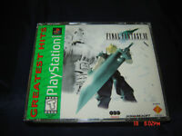 FINAL FANTASY VII PLAYSTATION 1 COMPLET RPG