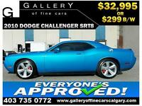 2010 Dodge Challenger SRT8 $299 bi-weekly APPLY NOW DRIVE NOW
