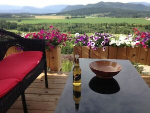 Shuswap incredible Country View Home, Salmon Arm rural