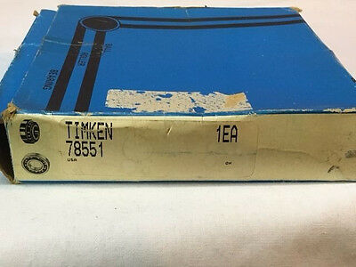 Lot2 Timken 78551 Tapered Roller Bearing