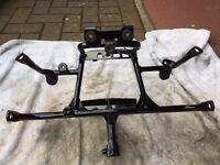 Honda XRV 750 XRV750 Africa Twin headlight fairing bracket subframe