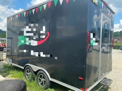 2016 - 7 X 16 Pizza Concession Trailer Turnkey Ready Pizzeria On Wheels For