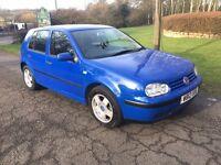 Volkswagen Golf 1.6 s 12 months mot small cheap car nice car