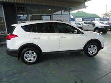 2013 Toyota RAV4 ZSA42R GX (2WD) White Continuous Variable Wagon Hamilton Newcastle Area Preview
