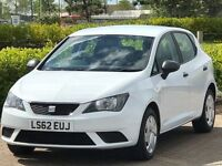 SEAT IBIZA 1.2 CR TDI S 5d 74 BHP (white) 2012