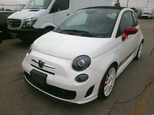2014 FIAT 500C ABARTH CONVERTIBLE LOADED 200 HORSEPOWER UPGRADE!
