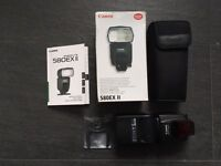 Canon 580 EX II Speedlite Flashgun