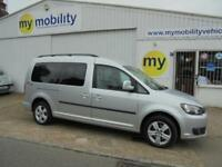 Volkswagen Caddy Maxi Wheelchair Scooter Accessible WAV Car Allied Conversion