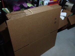 BRAND NEW MOVING BOXES 18 x 18 x 18 $10 TAKES THE LOT!