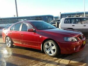 2007 Ford Falcon BF MkII 07 Upgrade XR6 Maroon 4 Speed Auto Seq Sportshift Sedan North St Marys Penrith Area Preview
